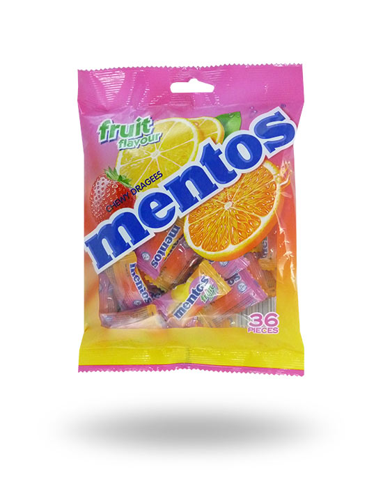 Mentos Fruit Flavour (36pcs) 97.2g